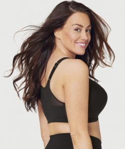 front closure bra with back support