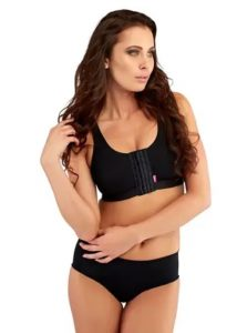 post surgical front closure bra